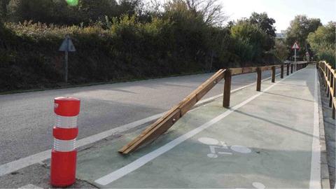 El carril bici de San Roque llegará en verano de 2016 hasta la estación de trenes gracias a la firma de un convenio entre el Ayuntamiento y la Junta de Andalucía con 357.000 euros de presupuesto