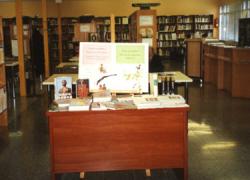Las personas aficionadas a la lectura de Martos podrán disfrutar de un programa de actividades literarias en la Biblioteca Pública Municipal para conmemorar el Día Internacional de las Bibliotecas