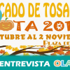 """""""El 'Mercado de Tosantos' de Rota se centra este año en promocionar la gastronomía y muestra una gran variedad de productos locales y comarcales"""", Pilar Ruiz, delegada de Cultura de Rota (Cádiz)"""