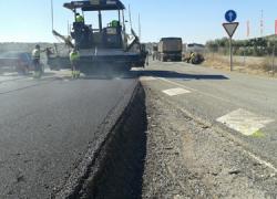 El tramo entre Arahal y Puebla de Cazalla de la A-92 inicia sus obras para mejorar la seguridad vial y favorecer la confortabilidad de la conducción mejorando ambos márgenes y la capa de rodadura