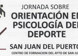 El Centro de Formación de San Juan del Puerto acoge el próximo sábado 21 de noviembre una jornada sobre Orientación en Psicología del Deporte que tratará temas como la motivación, la ansiedad o la autoconfianza