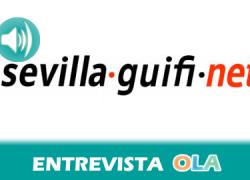 """""""Guifi.net se basa en la filosofía del procomún y se sustenta en tres parámetros fundamentales: una red abierta, libre y neutral"""", Alfredo Luque, uno de los promotores de Guifi.net en Sevilla"""
