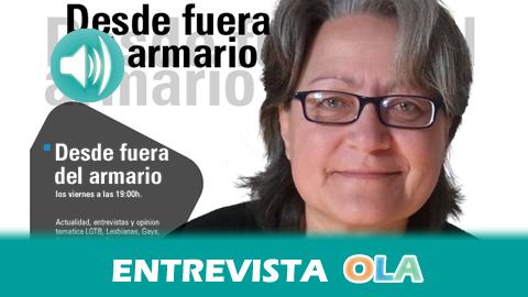 """""""Andalucía todavía no tiene una ley integral contra los delitos de odio y es muy importante sobre todo para los espacios de educación"""", Carmen Rodríguez, directora del programa Desde Fuera del Armario"""