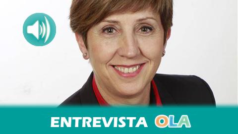 """""""Una de las obligaciones es fijar la población en el territorio y esto se hace también a través de esas noticias que se generan en los propios pueblos"""", Juana Baena, alcaldesa de Doña Mencía y presidenta de EMA-RTV"""