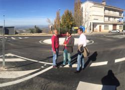 Mejorada la seguridad vial de La Iruela mediante la aportación de nuevas infraestructuras al acceso del municipio desde la A-319 con la construcción de dos carriles de circulación y una glorieta