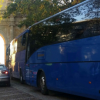 Los vehículos de transporte escolar que cumplen su servicio en el municipio de Carmona serán examinados y verificados por la policía local gracias a una campaña en pro de la seguridad vial de escolares