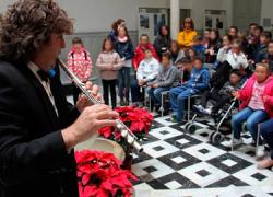 """450 escolares de la de la provincia de Granada participan en las actividades del proyecto """"Caleidoscopio Navideño"""" rodeados de teatro, circo, animación, música y proyecciones audiovisuales"""