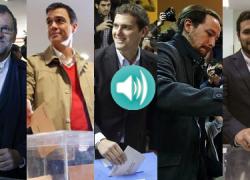 20D ELECCIONES GENERALES: Escucha las declaraciones de los principales candidatos a la Presidencia del Gobierno y diversos representantes políticos de Andalucía a la hora de ejercer su derecho al voto