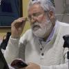 """El escritor onubense Antonio Perejil Delay presenta en su Nerva natal su último libro """"Un romancero para el río Tinto"""" con más de medio centenar de poemas que ha dedicado al río Rojo de Huelva"""