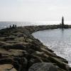San Roque comienza las obras en la zona del espigón norte de la playa de Sotogrande para proteger el litoral por los daños de los temporales después de que el año pasado se llevaran a cabo en el espigón sur