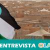 """""""A través de la obra de muchos artistas contemporáneos hemos conseguido difundir la realidad del conflicto saharaui a muchos espacios"""", Mercedes Escobar, Asociación de Amistad con el Pueblo Saharaui de Sevilla"""