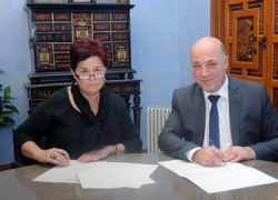 La ciudadanía cordobesa es la beneficiaria de un convenio entre la Diputación y la Organización Feminista de la Subbética para la sensibilización y prevención de la violencia de género y fomento de la igualdad
