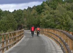 La Vía Verde del Segura aumentará su longitud en 26 kilómetros según el proyecto de su tercera fase, que discurre entre los municipios jienenses de Arroyo del Ojanco y Villanueva del Arzobispo