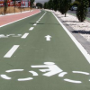 El entorno de La Vega queda conectado con Granada gracias a la apertura de una red ciclista compuesta de tres vías que suman 5,5 kilómetros que facilitarán la movilidad sostenible en el área metropolitana