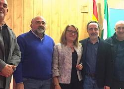El taller de José Carlos Escobar, un artista de Nerva, ha sido declarado como Punto de Interés Artesanal de Andalucía, un distintivo que pretende poner en valor la potencialidad de lo artesano en Andalucía
