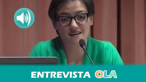 """""""El Observatorio de Desigualdad de Andalucía pretende combatir la desigualdad y para eso es necesario conocer la realidad y hacerla visible"""", Carla Cingolani, integrante de Mujeres en Zona de Conflicto"""