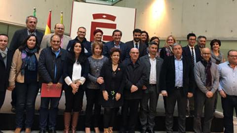 Un total de 18 alcaldes y alcaldesas se reúnen en el Primer Consejo de Alcaldes de la provincia de Granada para analizar la Situación del Ciclo Integral del Agua y la Tasa de Tratamiento de Residuos