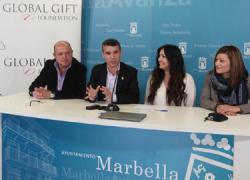 Cinco asociaciones de Marbella compartirán un centro multifuncional destinado a niños y niñas con necesidades especiales, alojado en un espacio público cedido por el consistorio a la Fundación Global Gift