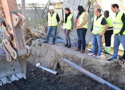 Las obras de emergencia de limpieza y reparación de cauces de las zonas afectadas por las lluvias torrenciales del pasado mes de septiembre en la alpujarra granadina alcanzan el 91% de su ejecución