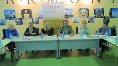 Comienzan los preparativos para la nueva edición de la Feria Agrícola y Ganadera de la localidad sevillana de Carmona, Agroporc 2016, que se celebrará del 22 al 25 del próximo mes de septiembre