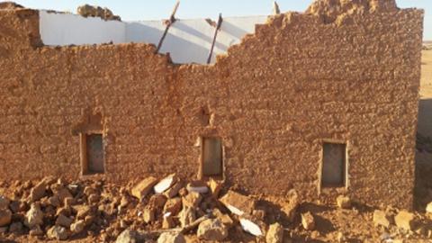 La ciudadanía de Carmona donará 3.000 euros de ayuda a los campamentos de refugiados saharauis para la reconstrucción de sus viviendas derribadas por los recientes temporales de lluvia y viento