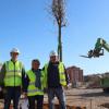 Comienza la construcción del Parque de Los Bajos, en el municipio almeriense de Roquetas de Mar, que incluirán numerosas infraestructuras culturales y de ocio, además de 800 árboles de distintas clases