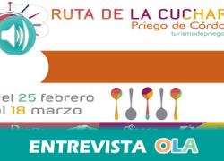"""""""Los establecimientos que participan en la Ruta de la Cuchara son locales de referencia del municipio y usan como base el mejor aceite de oliva del mundo"""", Pablo Ruiz, concejal de Desarrollo – Priego de Córdoba"""