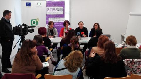 FAECTA inicia unas jornadas en el Polígono Sur de Sevilla que tienen como objetivo el emprendimiento cooperativo para mujeres desempleadas que quieran crear su propio proyecto empresarial
