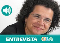 """""""Con la reforma laboral ha aumentado la precariedad y triplicamos las cifras de los hombres, además, ha aumentado la brecha salarial"""", Soledad Ruiz, secretaria Políticas Sociales e Igualdad de UGT Andalucía"""