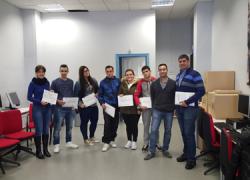 14 personas desempleadas de Alcalá del Valle y Setenil de las Bodegas se benefician de un curso de formación en operaciones auxiliares con tecnologías de la información que se integra dentro del Plan Crece