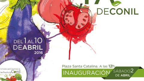 El municipio gaditano de Conil presenta las VI Jornadas Gastronómicas de la Huerta con el objetivo de dar a conocer sus productos más típicos a través de los 30 bares y restaurantes participantes