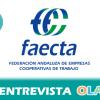 """""""El cooperativismo está muy arraigado en el territorio, por eso es importante su vínculo con el municipalismo para crear empleo de calidad y consolidar los municipios"""", Ramón García, FAECTA Jaén"""