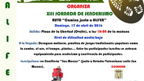 El deporte como hábito de vida saludable, la recuperación de juegos populares tradicionales y la gastronomía local forman parte de la Jornada de Senderismo de Fernán Núñez organizada por la Asociación ALIFER