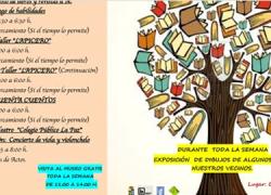 Un mercadillo de libros y revistas, talleres, cuentacuentos, y actuaciones teatrales y musicales son algunas de las actividades programadas para la séptima edición de la Semana Cultural de Almargen