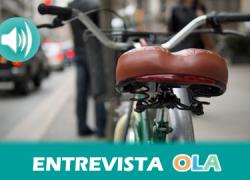 """""""Hace falta que los responsables políticos se lo crean e incorporen la promoción de la bicicleta en los diseños urbanos y den facilidades"""", Juan Manuel Mellado, presidente de Acontramano"""