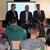 Jóvenes del municipio malagueño de Álora participan en el programa 'Me lo curro', enfocado a informar a la juventud sobre la búsqueda de empleo y el desarrollo de proyectos de emprendimiento