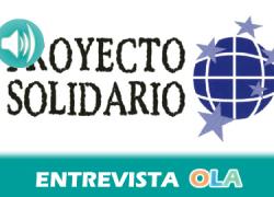 """""""No se trata solo de cooperación sino también de generar procesos de sensibilización y de concienciación, sobre todo ante los retrocesos de los últimos años"""", Antonio Josué Díaz Rodríguez, Proyecto Solidario"""