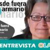 """""""Hace falta formación e información porque en nuestros centros escolares sigue habiendo un desconocimiento absoluto de qué es una lesbiana"""", Carmen Rodríguez, directora del programa Desde Fuera del Armario"""