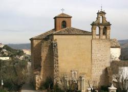 La cripta del Convento de Santo Domingo de La Guardia de Jaén, edificio del siglo XVI, vuelve a abrirse al público tras el desplome que sufrió el pasado mes de septiembre por la rotura de una tubería