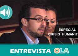 """""""Nos parece triste que esa imagen de una Europa que favorece los DDHH se vaya quedando en una fortaleza en la que los propios países ponen trabas a la circulación interna"""", José Miguel Morales, Andalucía Acoge"""