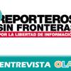 """""""La libertad de información es un derecho de todos, de los periodistas a informar con libertad y de la ciudadanía a recibir una información veraz"""", Malena Mangas, responsable de prensa Reporteros Sin Fronteras"""