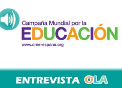 """""""La educación genera protección frente a la pobreza, fortalece las capacidad pero sin financiación es imposible que haya ejercicio de este derecho"""", Graciela Rico, Campaña Mundial por la Educación en España"""