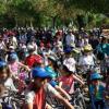 La iniciativa del Día de la Bicicleta de Ogíjares une solidaridad y deporte recogiendo media tonelada de alimentos no perecederos destinados para el Banco de Alimentos del municipio granadino