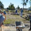 Ampliar la oferta de ocio y tiempo libre de la localidad y poner en valor el entorno natural del muelle son los objetivos de las actuaciones llevadas a cabo en el municipio onubense de San Juan del Puerto