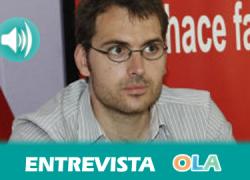 """""""Creo que vamos a un escenario que puede generar una ilusión por la coalición IU-Podemos que puede sacar de la abstención a una importante parte del electorado"""", Toni Valero, secretario de Organización de IU-A"""