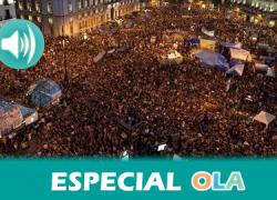 """""""El 15M ha sido fue y es una respuesta maravillosa de gente sencilla juntándose, trabajando y haciendo visible realidades como los desahucios"""", Fernando Fernández de Castro, integrante del 15M de Málaga"""