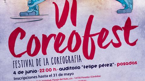 El municipio cordobés de Posadas celebra el VI Festival Coreofest, un concurso de coreografías en el que las personas amantes del baile podrán participar el próximo 4 de junio en el auditorio Felipe Pérez