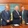 La Fundación 'Caja Rural del Sur' impulsa una iniciativa con la que se doblarán las hectáreas de regadío en la provincia de Huelva generando empleo e impulsando la economía agrícola provincial