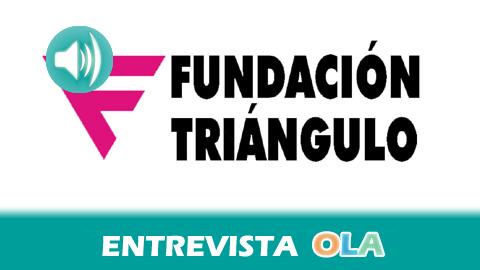"""""""En Andalucía sigue habiendo agresiones, insultos y vejaciones, por eso pedimos a la Junta una ley contra la LGTBfobia para tener una herramienta con que combatirla"""", Raúl González, Fundación Triángulo"""