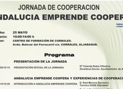 Aljaraque celebra el próximo 25 de mayo la I Jornada de Cooperación que organiza Andalucía Emprende, dirigida al sector emprendedor de la localidad y dedicada a la cooperación en el mundo empresarial